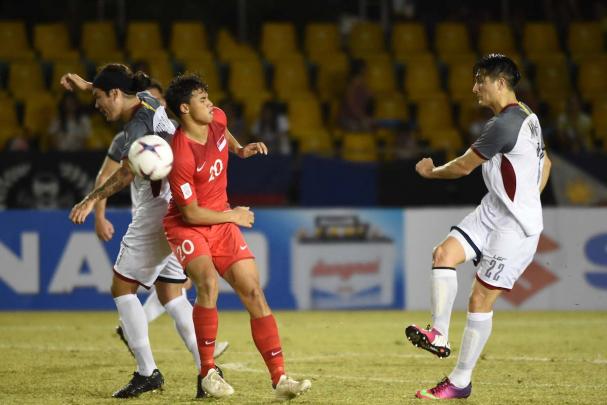 2 phút làm 2 nháy, Đông Timor vẫn không thể giành được điểm trước đại gia Philippines