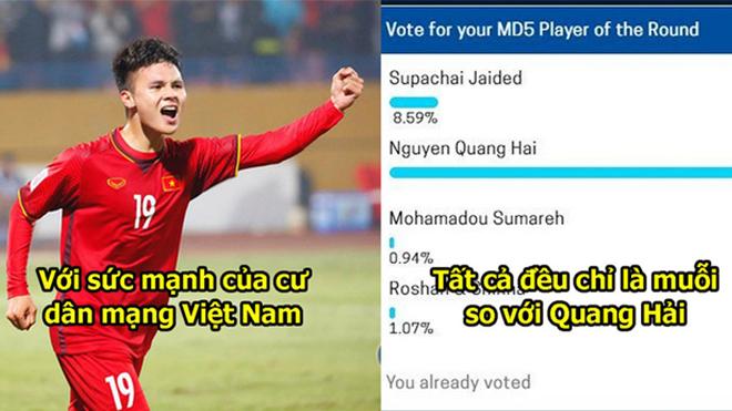 Bầu chọn cầu thủ xuất sắc nhất AFF, Quang Hải quá nổi bật giữa đám đông