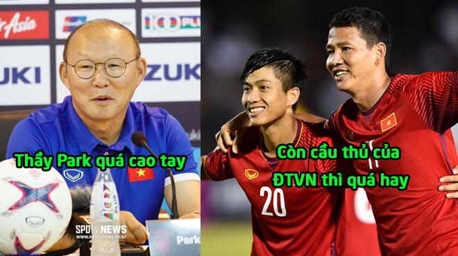 """Báo Hàn Quốc: """"Sao Việt Nam có thể chơi một trận đấu hay đến như vậy, trao vé vào chung kết cho họ luôn đi"""""""