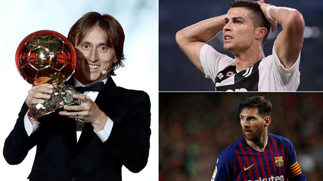 Kết quả trao giải Quả bóng Vàng 2018: Luka Modric CHÍNH THỨC lên ngôi, chấm dứt thập niên thống trị của Ronaldo và Messi