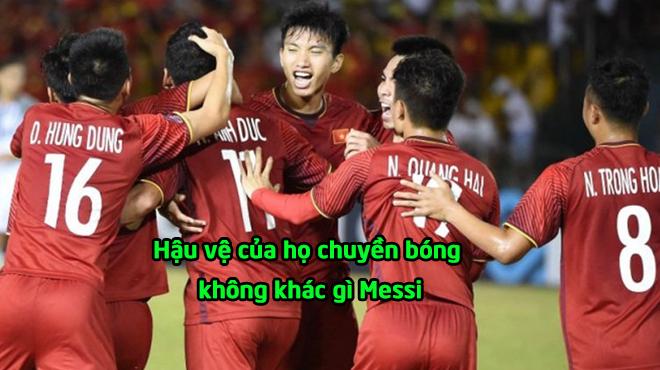 """Báo Indonesia: """"Hậu vệ Việt Nam thủ đã hay, chuyền bóng còn đẳng cấp như Messi"""""""