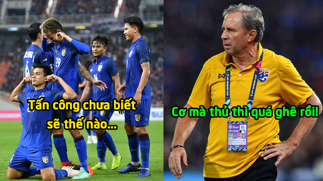"""HLV ĐT Thái Lan: """"Chúng tôi sẽ dạy cho Malaysia biết thế nào là bóng đá tấn công"""""""