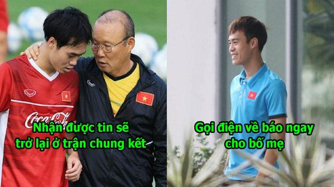 """Vừa tụ hội cùng ĐTVN, Văn Toàn đã gọi điện về báo tin vui cho gia đình: """"Chờ con ở trận chung kết nhé"""""""