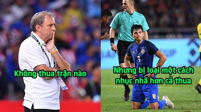"""HLV Thái Lan: """"Chúng tôi vẫn thấy kiêu hãnh vì có thua trận nào đâu"""""""