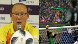 Lo Văn Lâm và đồng đội bị CĐV Malaysia chiếu đèn laser vào mắt, thầy Park lên tiếng dằn mặt hùng hồn thế này đây!