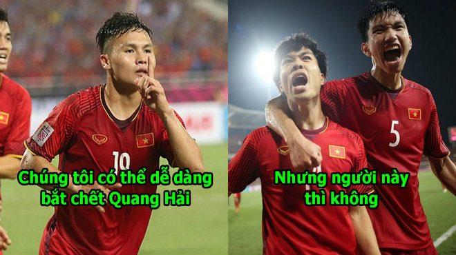 """Tiền đạo Malaysia: """"Quang Hải của Việt Nam hay nhất nhưng không đáng sợ bằng cầu này"""""""