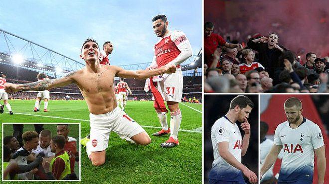 Kết quả Arsenal vs Tottenham: 6 bàn thắng, 2 quả phạt đền và 1 tấm thẻ đỏ