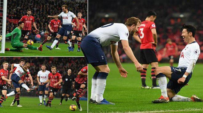 """Ronaldo Hàn lại tỏa sáng như một vị thần, Tottenham """"kết liễu"""" Southampton chỉ trong vòng 4 phút"""