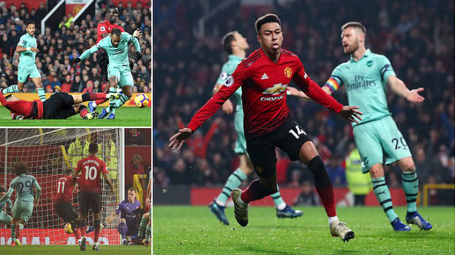 Kết quả MU vs Arsenal: Đôi công hấp dẫn, rượt đuổi điên rồ