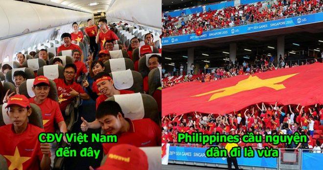 CHÙM ẢNH: CĐV Việt Nam chơi trội bao trọn chuyên cơ, sẵn sàng biến sân Panaad thành Mỹ Đình giữa lòng Philippines
