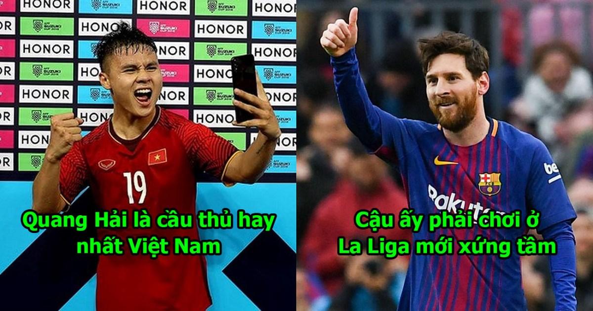 Quá ngưỡng mộ thiên tài của ĐTVN, La Liga chính thức đánh tiếng mời Quang Hải sang Tây Ban Nha thi đấu
