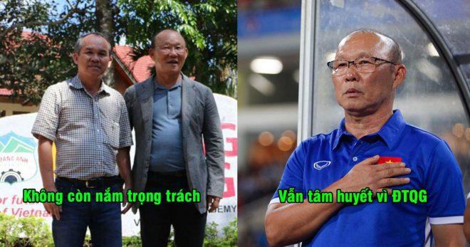 """Bầu Đức: """"Kể cả không còn là Phó chủ tịch tài chính, tôi vẫn trả lương cho HLV Park Hang-seo đến hết hợp đồng"""""""