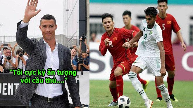 Quá ấn tượng với cầu thủ Việt Nam, Ronaldo đích thân lên tiếng động viên khiến tất cả xúc động tự hào!