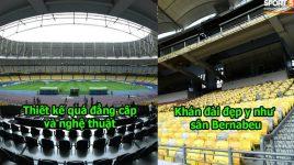 CHÙM ẢNH: Chiêm ngưỡng vẻ đẹp hoành tráng SVĐ Malaysia; đẹp chẳng kém gì Bernabeu, Nou Camp