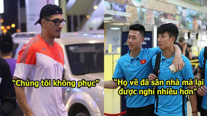 """Cầu thủ Philippines bức xúc: """"Tại sao ĐTVN bay có 4 tiếng mà chúng tôi phải bay 20 tiếng? Thật là bất công"""""""