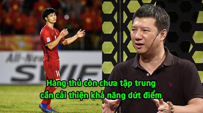 """BLV Quang Huy: """"Hàng thủ của ĐTVN còn chưa tốt, dứt điểm cần phải lạnh lùng hơn"""""""