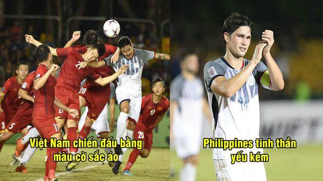 """CĐV Philippines: """"Cầu thủ Việt Nam chiến đấu vì màu cờ sắc áo, còn chúng ta thì không"""""""
