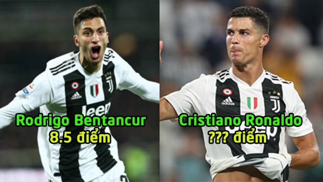 Chấm điểm Juventus trận Fiorentina: Bỏ túi 1 bàn thắng, CR7 vẫn chỉ xếp như này thôi sao?