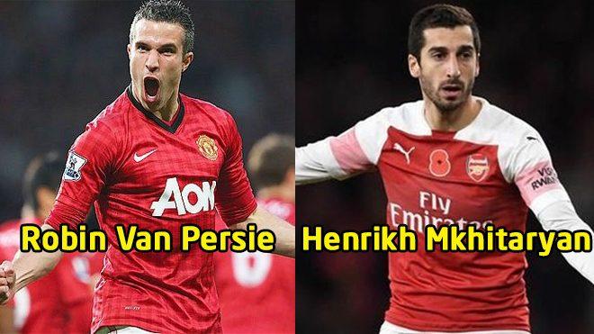 4 ngôi sao từng khoác áo Man United và Arsenal: Gọi tên Van Persie