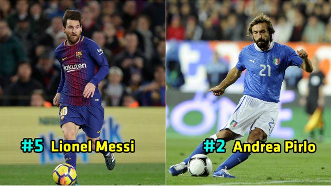 Top 10 cầu thủ có lối chơi thông minh nhất thế giới thập niên qua: Messi vẫn phải chào thua bộ óc vĩ đại này