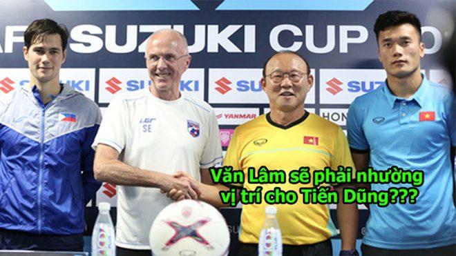 Thầy Park để lộ dấu hiệu sẽ cho Tiến Dũng trổ tài, Văn Lâm sẽ phải ngồi dự bị?