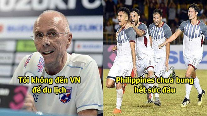 """HLV Philippines mạnh dạn tuyên bố: """"Chúng tôi sẽ thắng Việt Nam 2-0"""""""