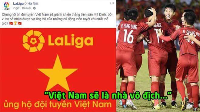 Suýt cho Malaysia ăn hành, ĐT Việt Nam lại được BTC La Liga nhuộm đỏ 'thả thính'