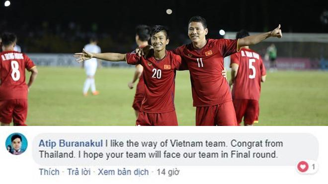 """CĐV Thái Lan thừa nhận: """"Chúng tôi thích cách Việt Nam chơi bóng"""""""