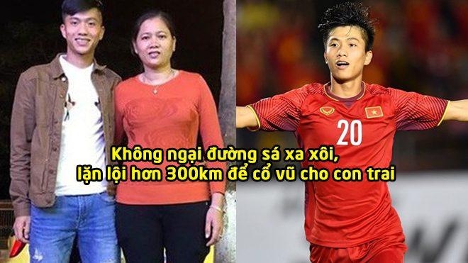 Chuyện cảm động về mẹ Phan Văn Đức: Vượt 330 cây số trong đêm để đến cổ vũ cho con trai