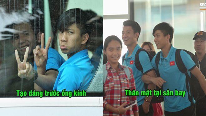 CHÙM ẢNH: ĐT Việt Nam hừng hực khí thế lên đường sang Malaysia chinh phục AFF Cup