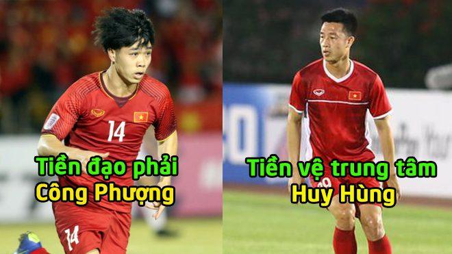 Đội hình cực dị của Đội tuyển Việt Nam chiến trận bán kết lượt về: Công Phượng được đá chính
