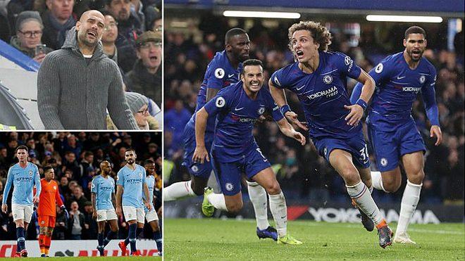 Kết quả Chelsea vs Man City: 2 đòn đau điếng, người khổng lồ sụp đổ