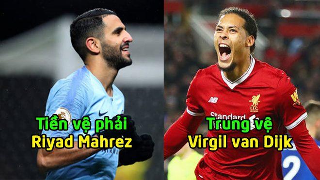 ĐHTB vòng 15 Premier League: Sức mạnh đáng nể của Liverpool