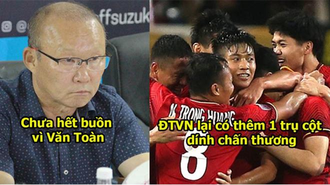 ÁM ẢNH: ĐT Việt Nam có khả năng cao mất tiền vệ hay nhất vì chấn thương bất ngờ