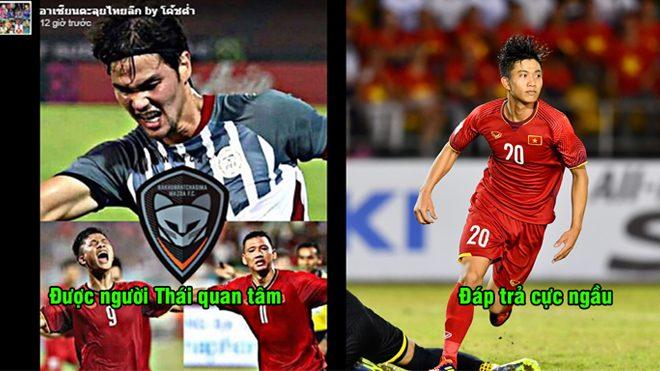 Biết tin đội bóng Thái Lan quan tâm đến mình, Văn Đức đáp trả một câu cực ngầu khiến ai cũng nể