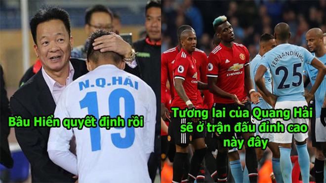 Không phải La Liga, bầu Hiển chốt tương lai Quang Hải là cầu thủ đầu tiên của Việt Nam tới Manchester chơi bóng