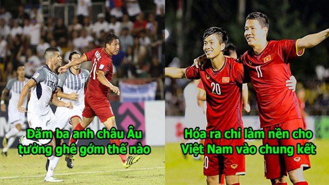 Song Đức tiếp tục tỏa sáng khiến Philippines thành trò hề, Việt Nam đặt một chân vào chung kết AFF Cup