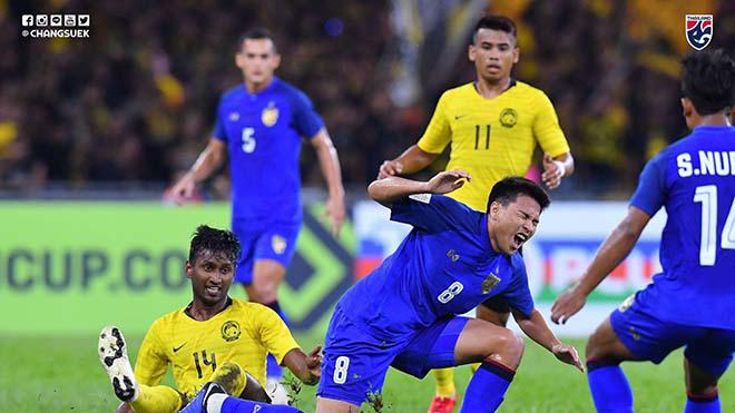 Thi đấu kém sắc bén, Malaysia chấp nhận tỷ số hòa với Thái Lan ngay trên sân nhà