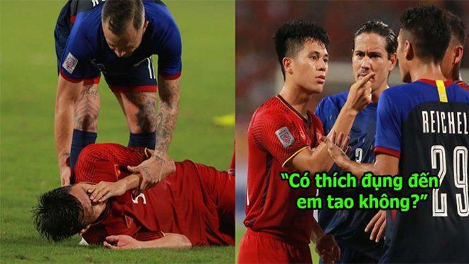 Trong tình thế vô cùng căng thẳng, Đình Trọng dằn mặt cầu thủ Philippines khiến ai cũng hả hê
