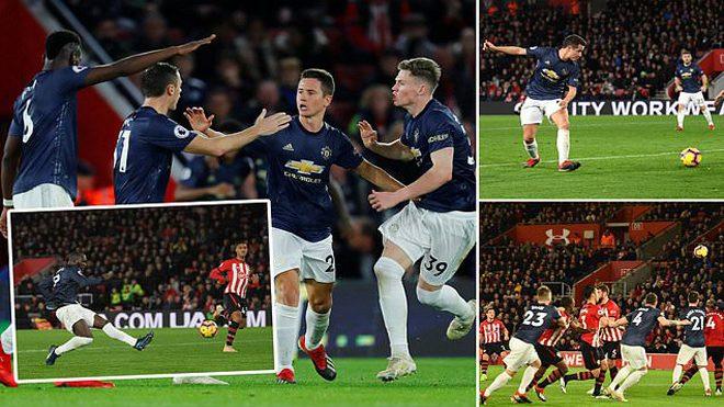Kết quả Southampton vs MU: Lukaku giải hạn và màn rượt đuổi không tưởng trong vòng 6 phút