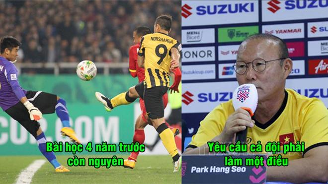 """Khắc ghi bài học Mỹ Đình 4 năm trước, HLV Park Hang-seo không muốn lặp lại """"vết xe đổ"""" trong trận bán kết với Philippines"""