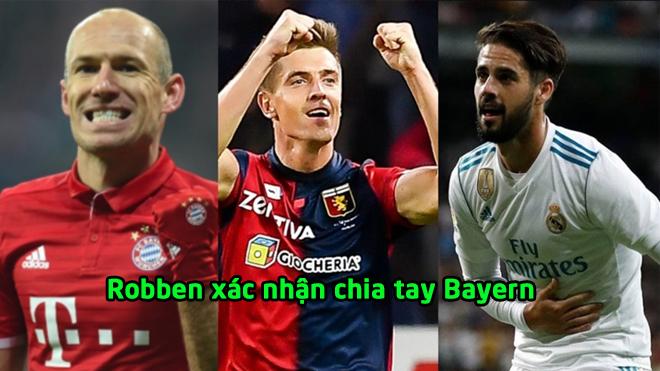 """Chuyển nhượng 03/12: Robben chốt thời điểm chia tay Bayern, Barca mua """"sát t.h.ủ"""" ít tên tuổi"""