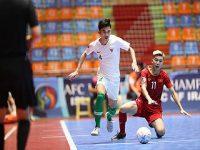 Việt Nam nhận thất bại trước Indonesia ở tứ kết U20 futsal châu Á 2019