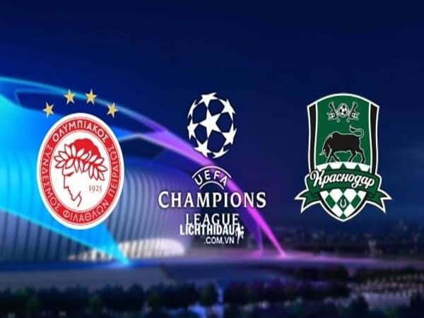 Soi kèo Olympiacos vs Krasnodar, 02h00 ngày 22/08