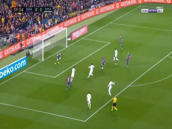 Lionel Messi bỏ lỡ cơ hội đáng tiếc giúp Barca chiến thắng