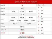 Phân tích sx Bình Thuận thứ 5 ngày 20-02-2020