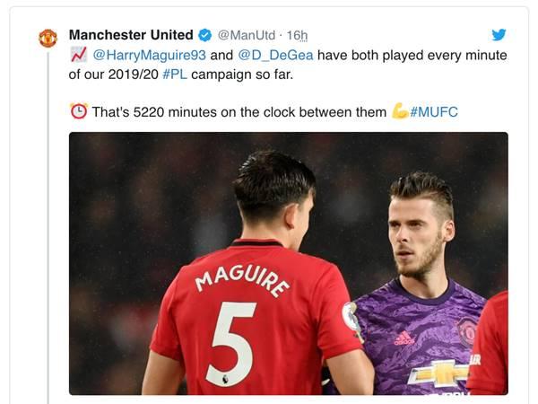 CĐV Manchester United dành lời khen đặc biệt cho hai ngôi sao
