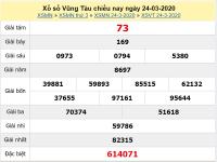 Phân tích kqxs Vũng Tàu 31/3/2020, chốt số dự đoán xs hôm nay