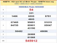 Phân tích kqxs bình thuận hôm nay ngày 26.03