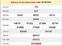 Phân tích kqxs Quảng Ngãi 27/6/2020, chốt số dự đoán XSQNG